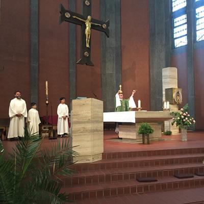 Santa Messa a Obernkirchen @ Chiesa di St.Josef